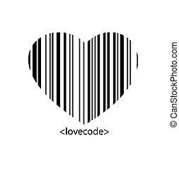heart barcode
