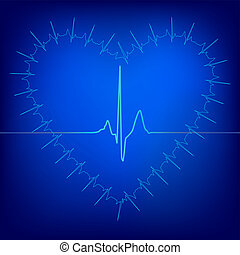 Heart Beat Background