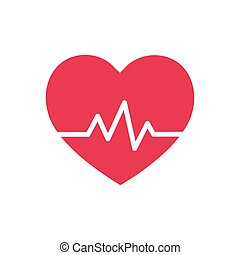 Heart beat - symbol