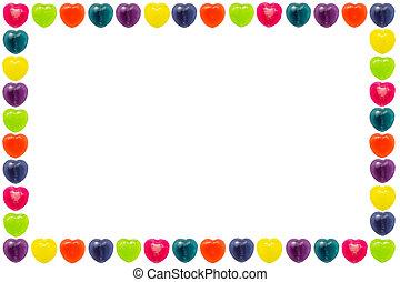 Heart Candy Border