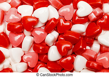 Heart Candy Pile