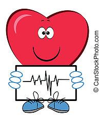Heart cartoon.