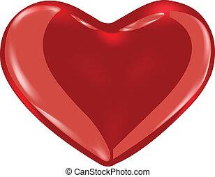 Heart  - 3D Red Heart