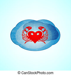 heart cloud.