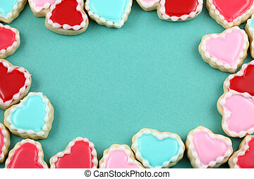 Heart Cookie Frame