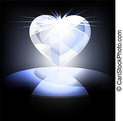heart-crystal, is