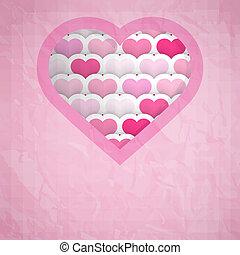 Heart Cut-out Background
