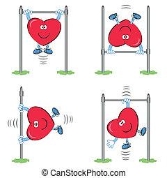 heart-, deportista