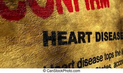 Heart disease confirm