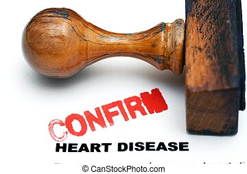 Heart disease confirm