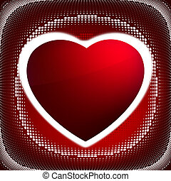 Heart (dots design series). EPS 8