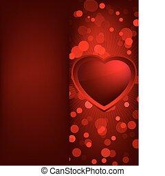 heart., eps, kedves, 8, nap, kártya