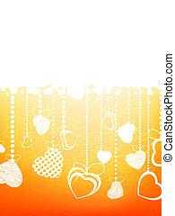 heart., eps, valentin`s, 8, 日, カード