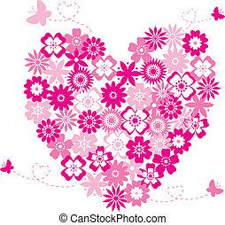 Heart flowers 2