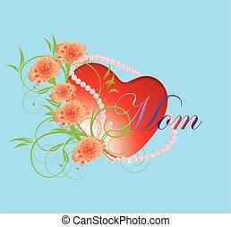 heart for mom,