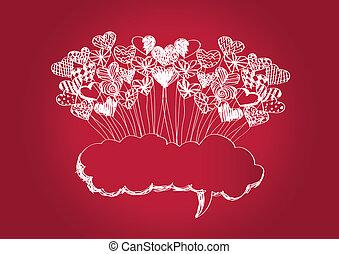 Heart for Valentines Day idea design