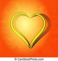Heart gift present Valentine's day