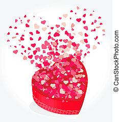 heart gift present