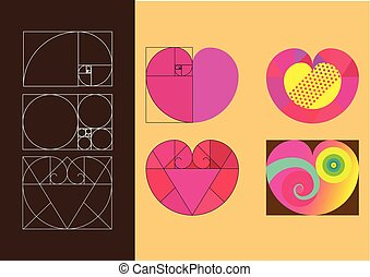 HEART Golden ratio