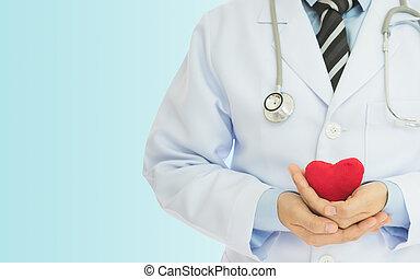 heart health check - Doctors invite examination of heart...