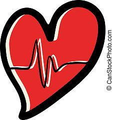 Heart health - Creative design of heart health