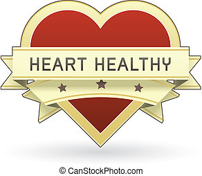 Heart healthy food label - Heart Healthy label or sticker...