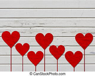 heart hearts love valentines day wood board