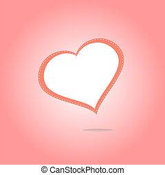 Heart Icon button. Holiday Heart Icon Art