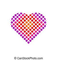 Heart Icon. Love symbol.
