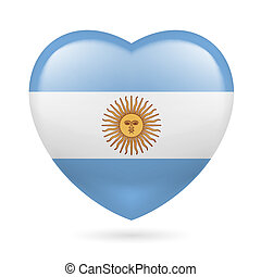 Heart icon of Argentina
