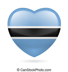 Heart icon of Botswana
