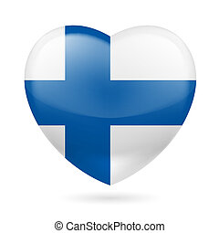 Heart icon of Finland