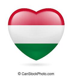 Heart icon of Hungary
