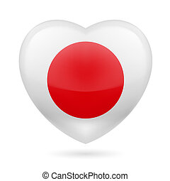 Heart icon of Japan
