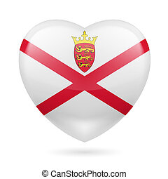 Heart icon of Jersey