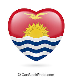 Heart icon of Kiribati