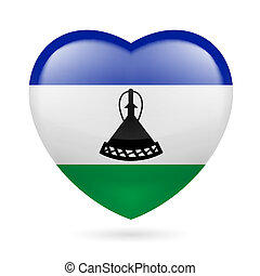 Heart icon of Lesotho