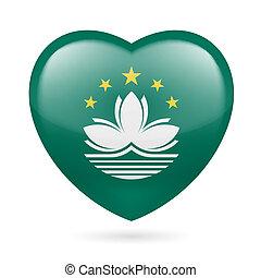 Heart icon of Macau