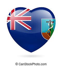 Heart icon of  Montserrat