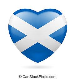 Heart icon of Scotland