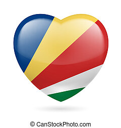 Heart icon of Seychelles