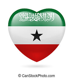 Heart icon of Somaliland