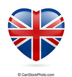 Heart icon of United Kingdom