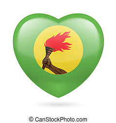 Heart icon of Zaire