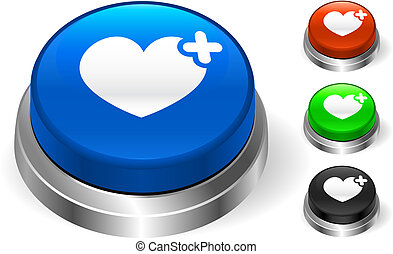 Heart Icon on Internet Button