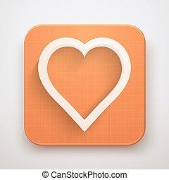 Heart Icon Premium Vector illustration