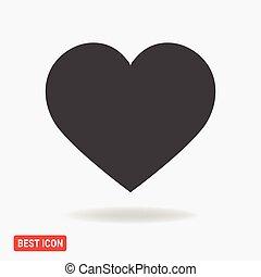 Heart Icon Vector. icon eps10.