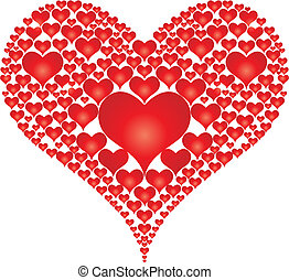 Heart icon. Vector illustration.
