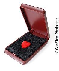 Heart in a box.