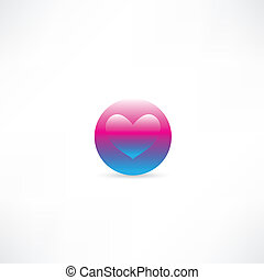 heart in a circle